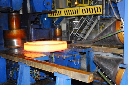 Production of rolled rings for the oil and gas industry at Urals Stampings Plant